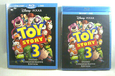 Toy Story 3 Dvd * Studio Commemorative Edition * New & Sealed In Slipcover