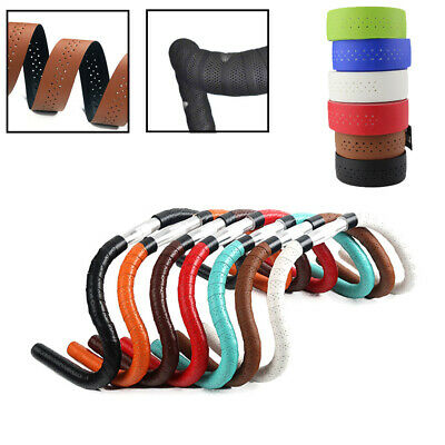 Perforated Breathable Handlebar Tape Mesh Belt Bike Accessory Cycling Supply