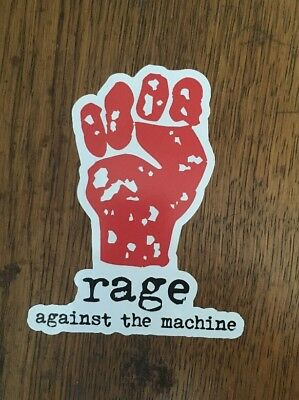 Rage Against The Machine Sticker