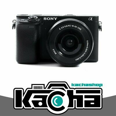 NUEVO Sony Alpha a6400 Mirrorless Digital Camera with 16-50mm Lens (Black)