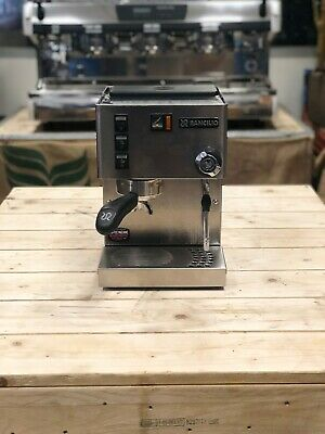 Rancilio Silvia 1 Group Stainless Espresso Coffee Machine Home Office Barista