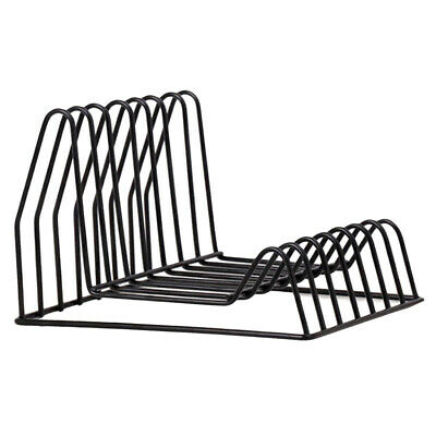 Modern Desktop Book Storage Rack Iron Bookshelf Shelf Display Organizer