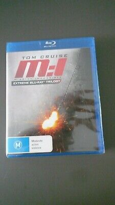 COFFRET Blu-Ray -MISSION IMPOSSIBLE  MI 1/2/3   Tom CRUISE - NEUF