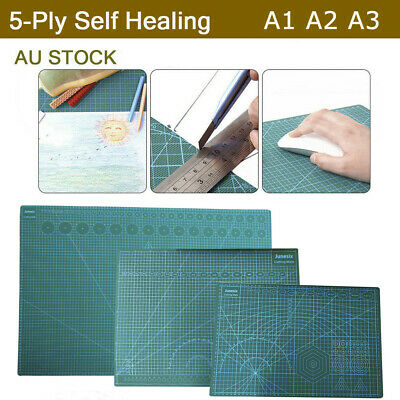 A3 A2 A1 Large DIY Thick Self Healing Cutting Mat Double-Side Art Craft Au Stock
