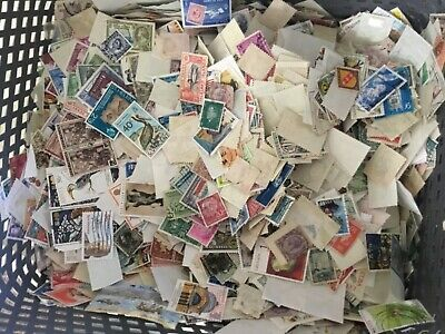 WorlD stamps including BRITISH COLONIES & COMMONWEALTH 1000 picked at random