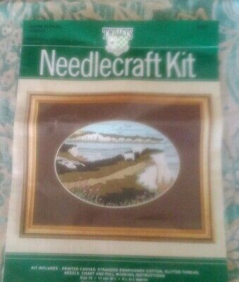 Twilleys of Stamford Needlecraft  Seven Sisters, Sussex Long Stitch kit FREE P&P