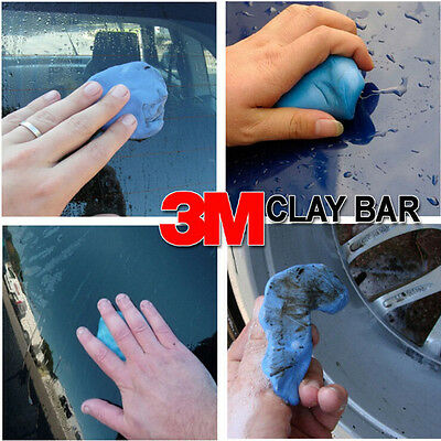 1pcs 3M Marks Wash Clay Bar Car Magic Auto Detailing Truck Remove Cleaning