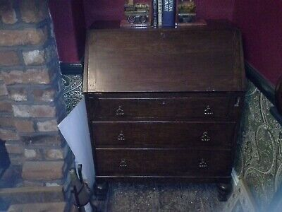 wooden antique  writing unit