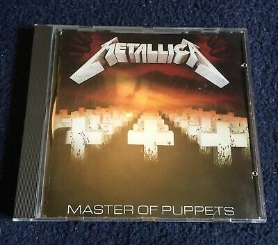METALLICA - MASTER OF PUPPETS en CD 8 titres 1986