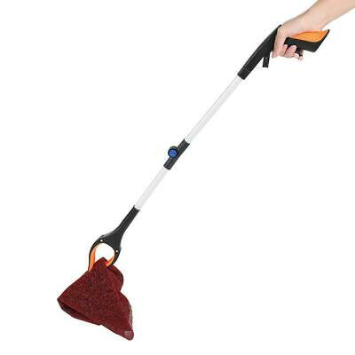 Foldable Garbage Pick Up Tool Grabber Reacher Stick Reaching Grab Claw 81cm UU