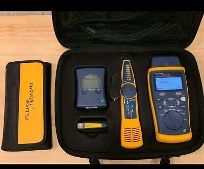 Fluke Networks CIQ-SVC CableIQ Linkrunner Qualification Service Kit CIQ CIQ-100