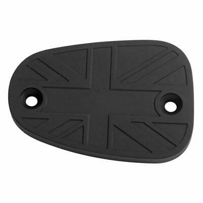 Motone Billet Disc Brake Oil Reservoir Master Cylinder Cap - Black - Triumph
