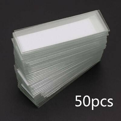 50Pcs 1mm Cavity Glass Coverslips Single Concave Microscope Glass Slides Cover