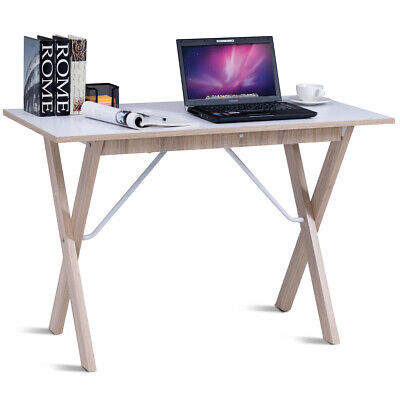 Wooden Writing Table Computer Desk Workstation Simple Home/Office Furniture UK