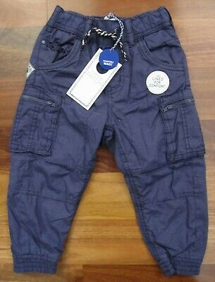 RRP: $42.99 Brand New Pair of Boys Size 2 Navy Blue Cargo Pants by Pumpkin Patch