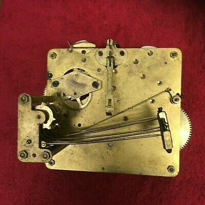 Vintage Fontenoy 5 bar chiming mantle clock movement for repair or spares