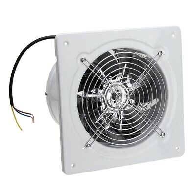 4 Inch 20W 220V High Speed Exhaust Fan Toilet Kitchen Bathroom Hanging Wall I6Q5