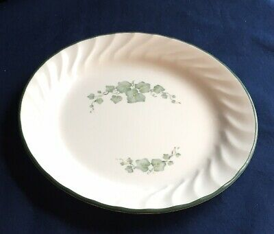 Corelle by Corning Salad Bread Dessert Plate Callaway Green Ivy Made in USA
