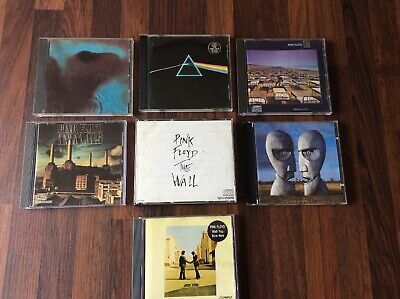 Pink Floyd CD collection lot, Thunder, Echoes, Lapse, Dark Side & Division Bell