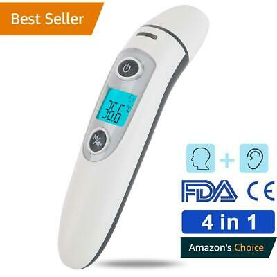 No-contact ear & fore-head infrared body temperature thermometer Baby/Infant/Kid