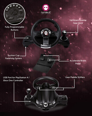 Numskull Multi Format Pro Steering Wheel