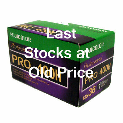 Fuji PRO 400H 35mm Colour Print Film 36exp  **MULTI-BUY SAVINGS**