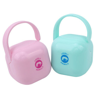 Practical Dustproof Pacifier Container Storage Box Portable Baby Pacifier Cases