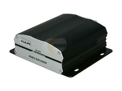 LILIN H.264 1CH Video Encoder Model VS212 Real-Time Video Compression Coax to IP