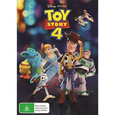 TOY STORY 4 (DVD)RELEASE DATE 09/10/2019 Brand New - Region 4 (AUS)