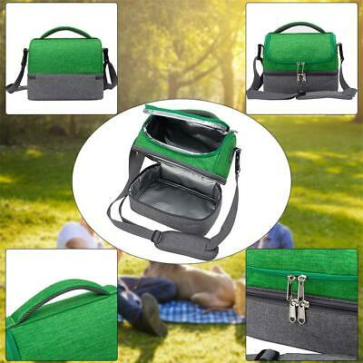 Insulated Lunch Bag Portable Keep Food Warmer Oxford Thermal Picnic Lunch Box