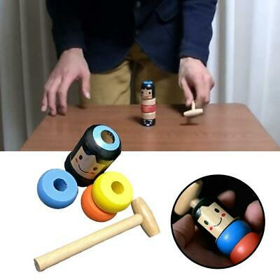 Unbreakable Wooden Man Magic Toy For Kids Gift
