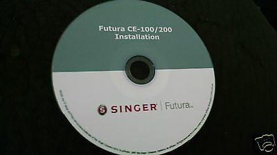 Singer Futura Install Software for the CE 100/200 and Upgrade 2.5 DOWNLOAD ONLY