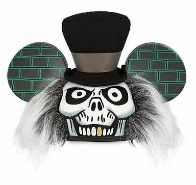 Disney Parks The Haunted Mansion - HatBox Ghost Mickey Ear Hat NEW w/Tags