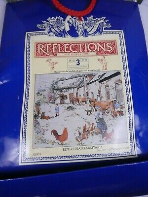 Reflections - A Stitch in Time - Edwardian Farmyard Embroidery Kit RE853, NEW