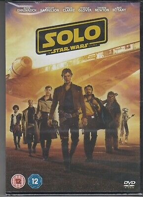 Solo: A Star Wars Story DVD (2018) NEW