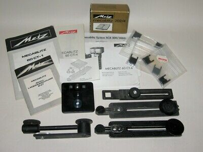 Metz Mecablitz Accessories Mounting Plates 60 CT Flashgun Manuals Diffusers etc.
