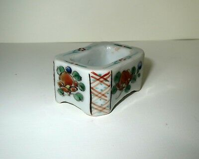 Antique Chinese CELADON PORCELAIN - INK WELL SNUFF SALT CONTAINER Box