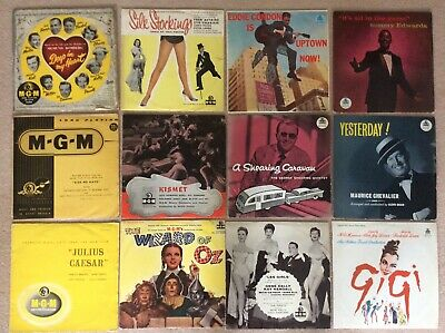 Collection of Original MGM LP's from 1957 (75 Records) Large Bundle