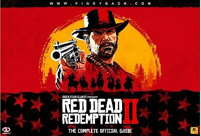 Red Dead Redemption 2 [The Complete Official Guide PDF] PS4 XBOX ONE