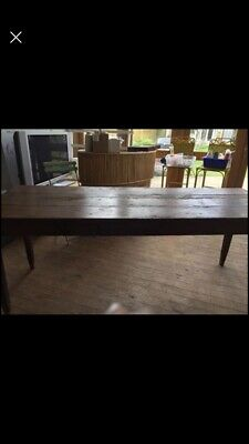 19th Century French Rustic Farmhouse Table