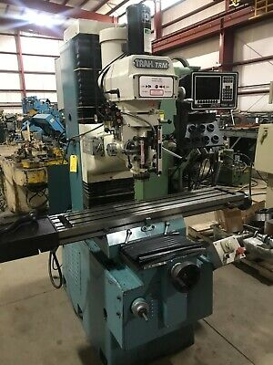 "CNC Mill: Southwestern Industries TRAK TRM, MX2 2 CNC, 10"" x 50"", 3 HP, 1995"