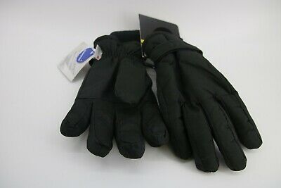 Quiet Wear insulated gloves L black waterproof work outdoor cold weather#745G