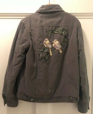 Wild & Gorgeous Khaki Green Jacket With Faux Fur Lining Aged 10-11