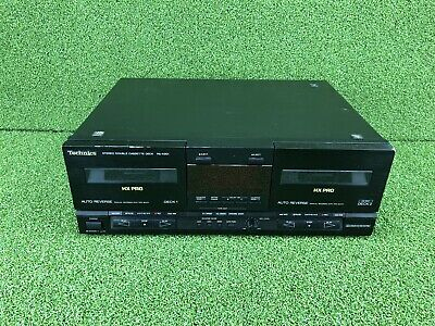 Technics RS-X901 Stereo Twin Cassette Tape Deck Player Recorder HiFi Separate