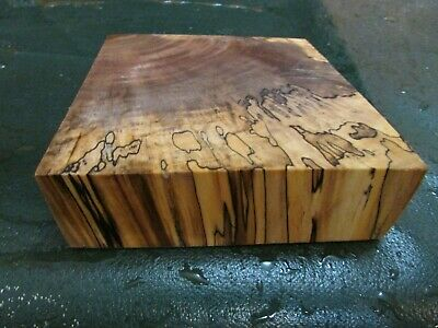 Mm-Spalted Maple  Deluxe  Knife Block/Scales/ Calls/ Pen Blanks--M--40