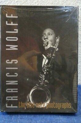 FRANCIS WOLFF The Blue Note Photographs 20 BLANK NOTE CARD SET Photography