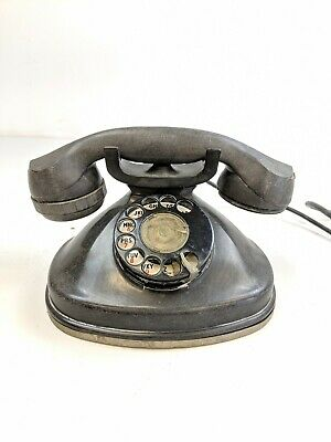 Vintage Rotary Telephone Stromberg Carlson Fatboy 1212a Antique Dial Phone