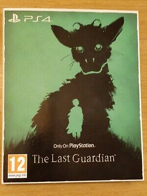 The Last Guardian The Only On Playstation Collection (Ps4) New Sealed