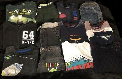 Large Outfit Bundle Gap Hoodies Free Joggers Jumpers  T-shirts 1.5-2 Baby Boy