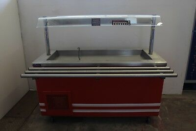 Victor Heated Gantry CARIB7.216ZF Trolley On Wheels Catering Kitchen Food Warmer